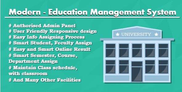 Modern - Education Management System
