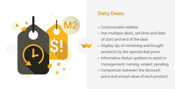 Daily Deals for Magento 2