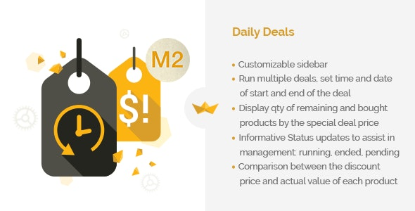 Daily Deals for Magento 2 - CodeCanyon Item for Sale