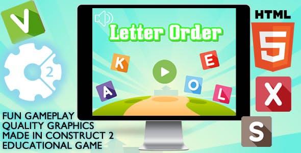 Letter Order Educational