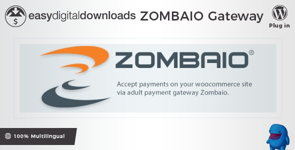 Easy Digital Downloads - Zombaio Payment Gateway - CodeCanyon Item for Sale