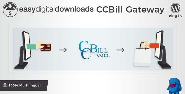 Easy Digital Downloads - CCBill Payment Gateway - CodeCanyon Item for Sale