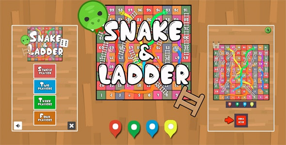 Snake & Ladder Unity3D Source code + Android iOS Supported + ADMOB + Ready to release - CodeCanyon Item for Sale