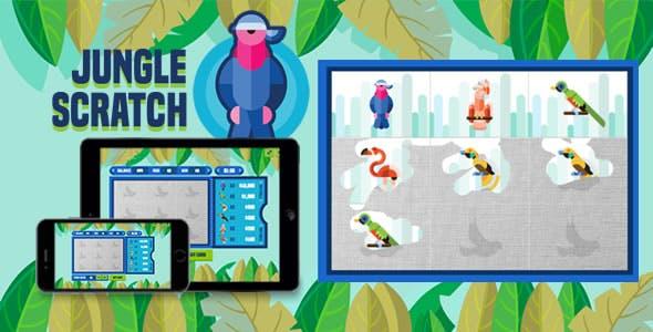 Jungle Scratch - HTML5 Game