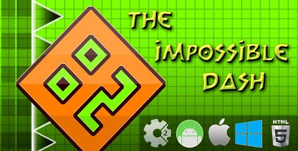 The impossible Dash - HTML5 Mobile Game (Capx)