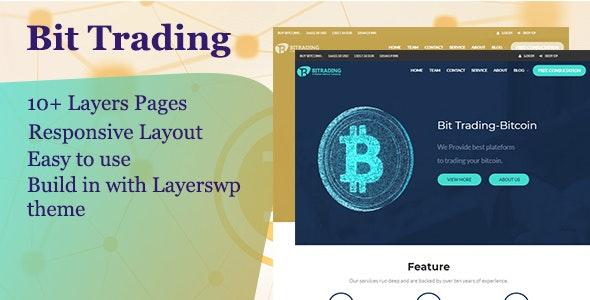 Bit Trading  - Layers WordPress Style Kit - CodeCanyon Item for Sale
