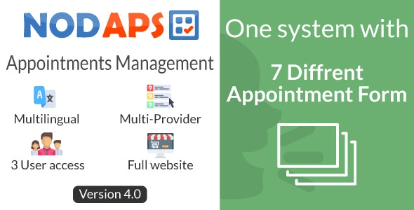Online Booking system - NodAPS - CodeCanyon Item for Sale