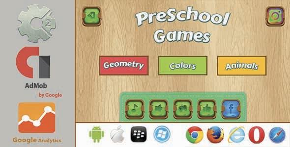 PreSchool Games - Construct2 HTML5 With Admob