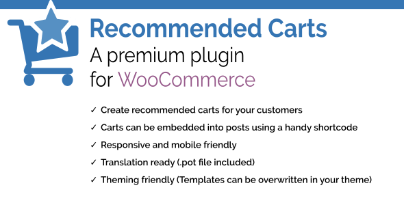 Recommended Carts for WooCommerce