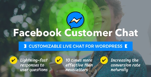 Facebook Customer Chat - Customizable Live Chat for WordPress - CodeCanyon Item for Sale
