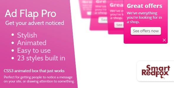 Advert Flap Pro