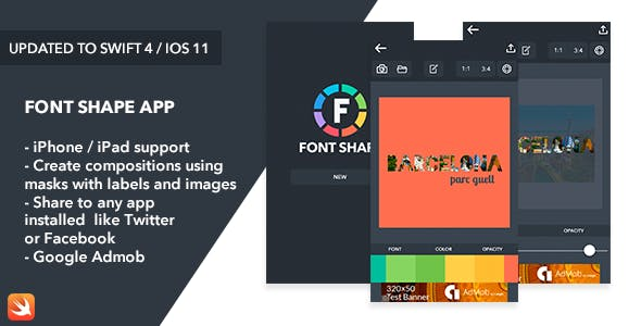 Font Shape iOS App
