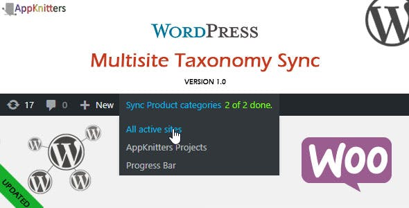 WordPress MultiSite Taxonomy Sync