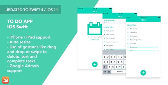 To Do - iOS Swift App