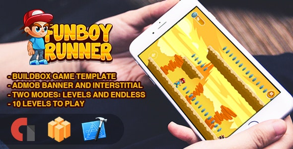 FunBoy Runner - IOS XCODE Source + Buildbox Template - CodeCanyon Item for Sale