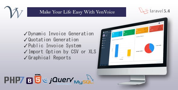 VenVoice - Dynamic Invoice Management