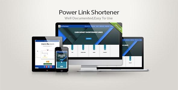 Power Link Shortener  3.0 - CodeCanyon Item for Sale