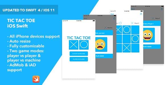 Tic Tac Toe iOS App