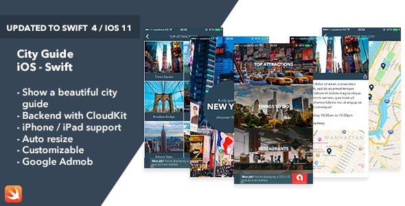 City Guide - iOS Swift App