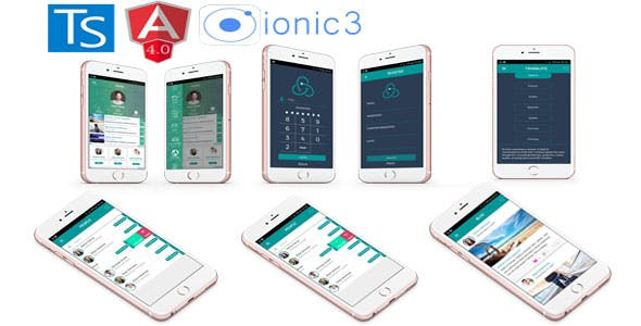 Ionic 3 + Angular 4 + i18n Full App with new features