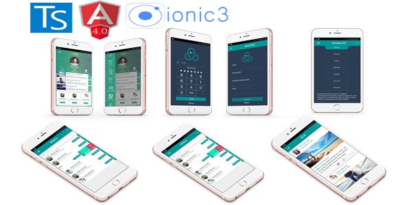Ionic 3 + Angular 4 + i18n Full App with new features - CodeCanyon Item for Sale