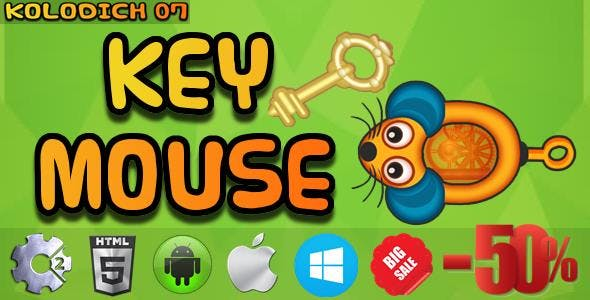 Key Mouse - HTML5 Mobile Game (Capx)