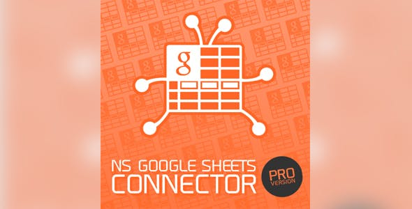 NS Google Sheets Connector Pro