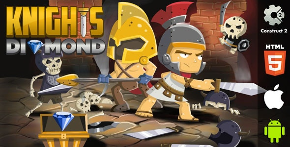 Knights Diamond - HTML5 Game (CAPX) - CodeCanyon Item for Sale