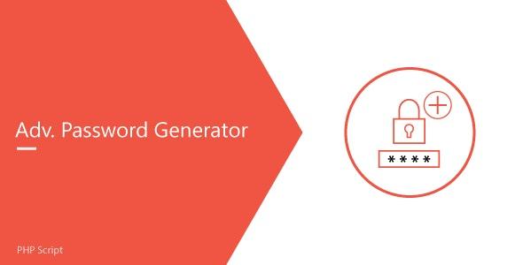 Advanced Password Generator - CodeCanyon Item for Sale