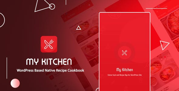 My Kitchen | Recipe Cookbook native android application based on WordPress