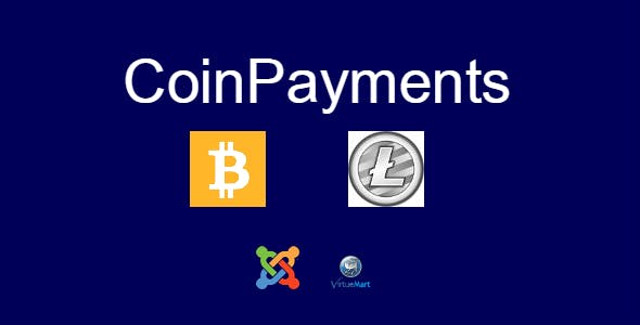 CoinPayments Joomla VirtueMart Plugin