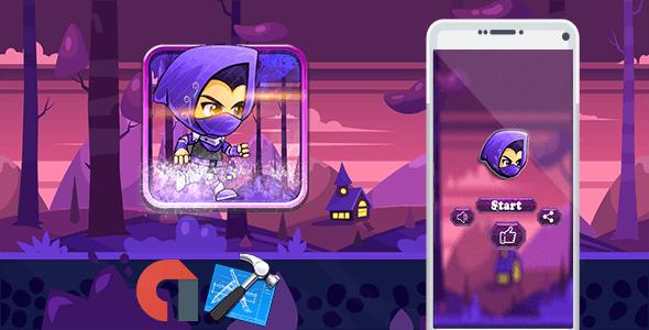 Super samurai pouchou + Admob + IOS Xcode Project