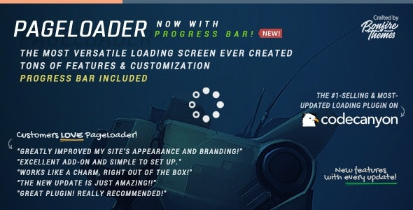 PageLoader: Loading Screen and Progress Bar for WordPress - CodeCanyon Item for Sale