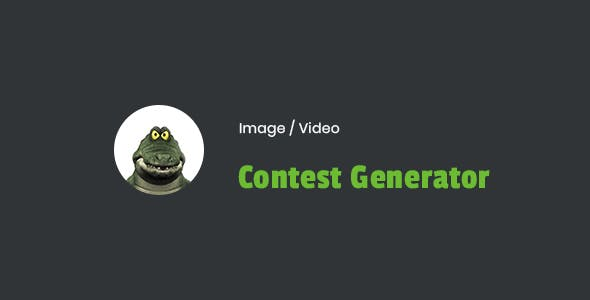 Image / Video Contest Generator Wordpress Plugin