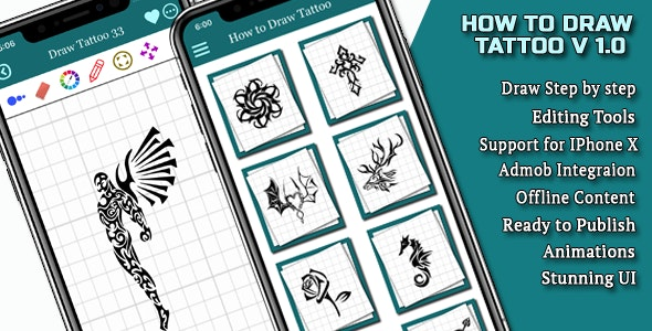 How to draw Tattoo IOS Full Application - CodeCanyon Item for Sale