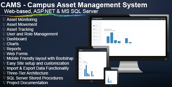 CAMS - Campus Asset Management System by codinsoft | CodeCanyon