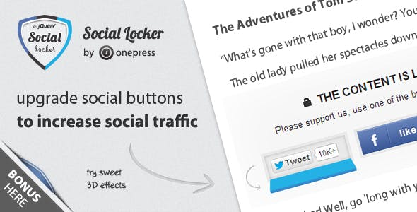 Social Locker for jQuery        Nulled