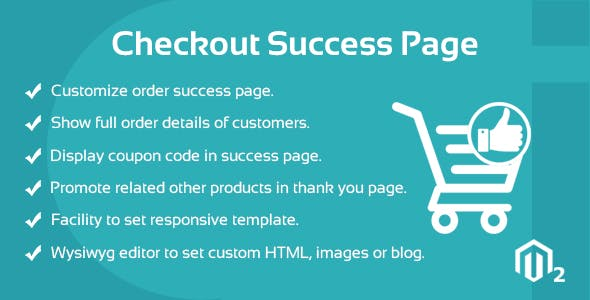 Success Page Magento 2 Extension