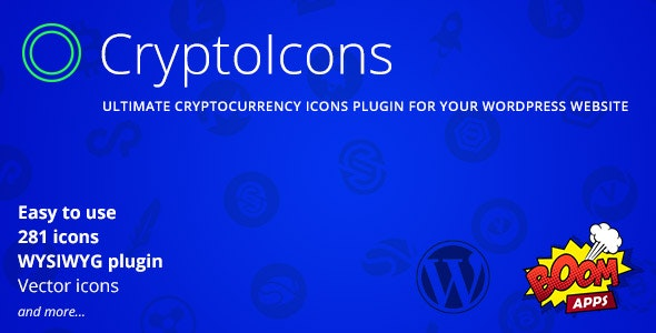 CryptoIcons - Ultimate Cryptocurrency Icons Kit - CodeCanyon Item for Sale