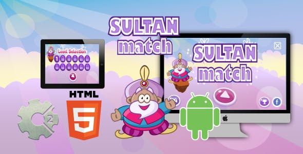Sultan Match - HTML5 Game (CAPX)