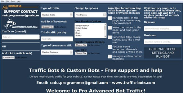 Pro Advanced Bot Traffic