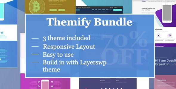 Themify Style Kit Bundle - CodeCanyon Item for Sale