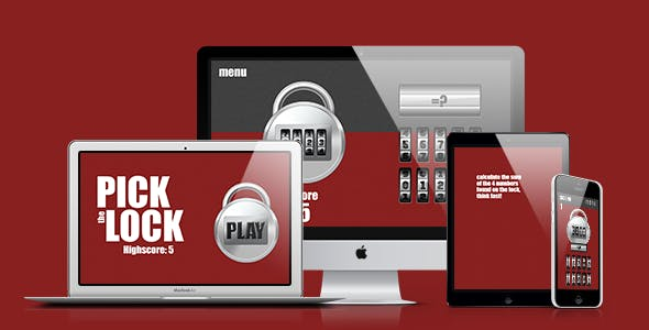 Math Game: Pick The Lock
