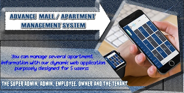 Advance Mall/Apartment Management System - CodeCanyon Item for Sale