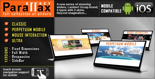 Parallax Slider - Responsive jQuery Plugin        Nulled