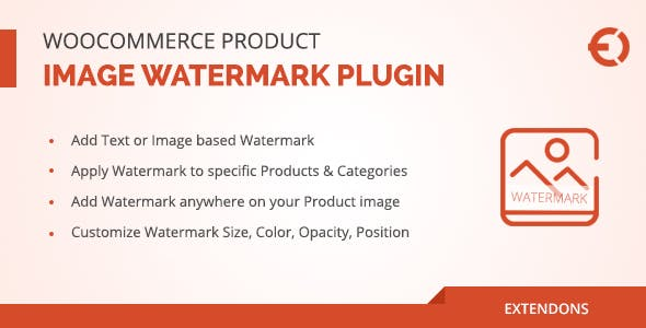 WooCommerce Product Image Watermark Plugin