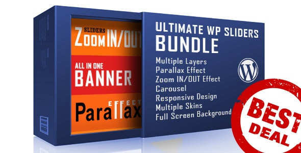 WordPress Sliders Bundle - Layers, Parallax, Zoom - CodeCanyon Item for Sale