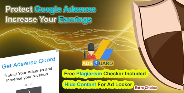 WP Adsense Guard Plugin - CodeCanyon Item for Sale