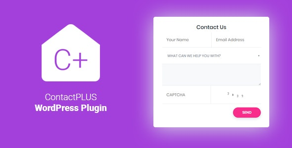PHP Contact Form For WordPress | ContactPLUS+ - CodeCanyon Item for Sale