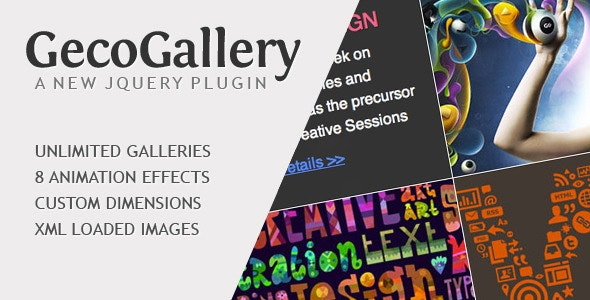 GecoGallery - jQuery Plugin - CodeCanyon Item for Sale